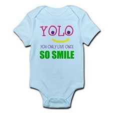 SMILEY YOLO Body Suit