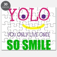 SMILEY YOLO Puzzle