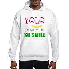 SMILEY YOLO Hoodie