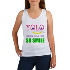SMILEY YOLO Tank Top