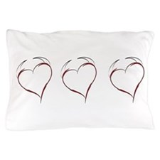 Heart with Horns Pillow Case