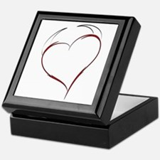 Heart with Horns Keepsake Box