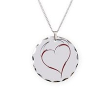 Heart with Horns Necklace