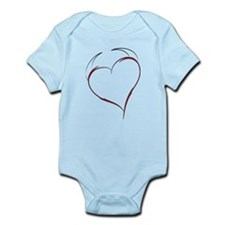 Heart with Horns Infant Bodysuit