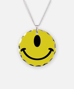 Cyclops Smiley Face Necklace