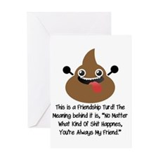 Friendship Turd Greeting Card