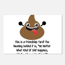Friendship Turd Postcards (Package of 8)