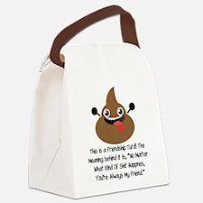 Friendship Turd Canvas Lunch Bag