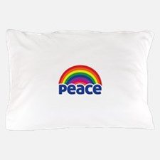 Peace Rainbow Pillow Case