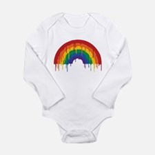 Rainbow Long Sleeve Infant Bodysuit