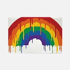 Rainbow Rectangle Magnet