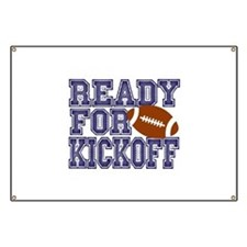 Ready For Kickoff Banner