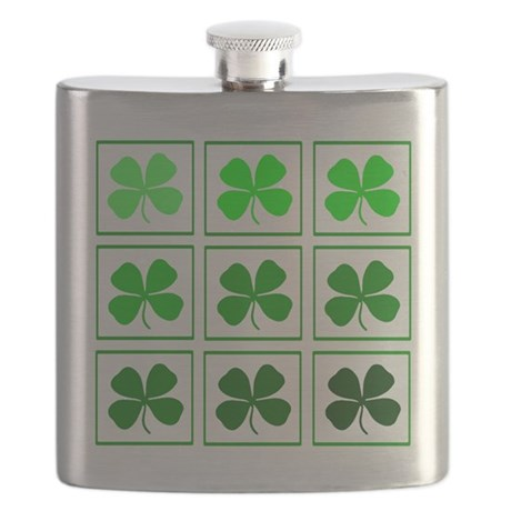 saint patricks day quad Flask