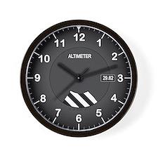 Altimeter Wall Clock Wall Clock