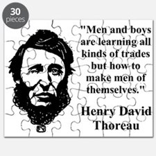 Men And Boys Are Learning - Thoreau Puzzle