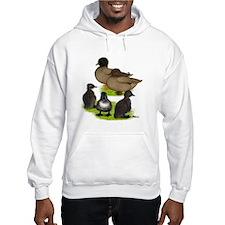 Call Duck Khaki Family Hoodie