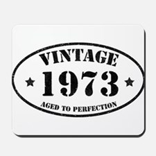 Vintage Aged to Perfection Mousepad