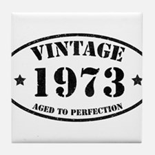 Vintage Aged to Perfection Tile Coaster