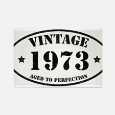 Vintage Aged to Perfection Rectangle Magnet