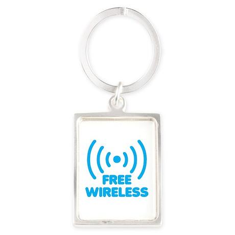Free Wireless Portrait Keychain