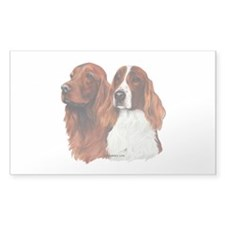 Irish Setters Decal