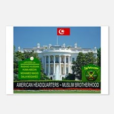 MUSLIM BROTHERHOOD Postcards (Package of 8)