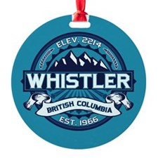 Whistler Ice Ornament