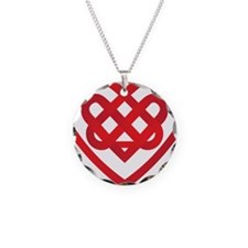 Celtic Knot Valentine Irish Necklace