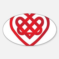 Celtic Knot Valentine Irish Decal
