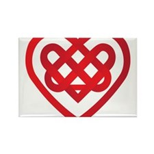 Celtic Knot Valentine Irish Rectangle Magnet