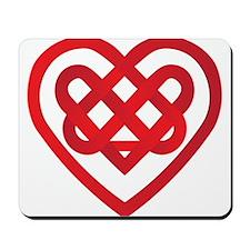 Celtic Knot Valentine Irish Mousepad