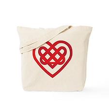 Celtic Knot Valentine Irish Tote Bag