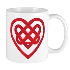 Celtic Knot Valentine Irish Mug