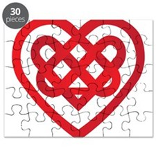 Celtic Knot Valentine Irish Puzzle