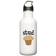 Stud Muffin Funny Valentines Day Gift Water Bottle
