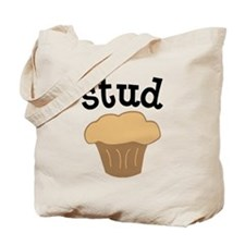 Stud Muffin Funny Valentines Day Gift Tote Bag