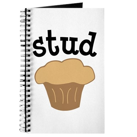 Stud Muffin Funny Valentines Day Gift Journal