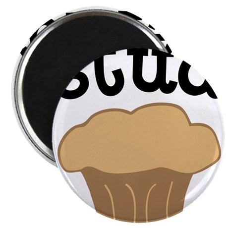 """Stud Muffin Funny Valentines Day Gift 2.25"""" Magnet"""