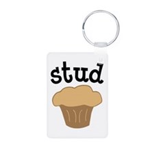 Stud Muffin Funny Valentines Day Gift Keychains