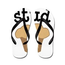 Stud Muffin Funny Valentines Day Gift Flip Flops