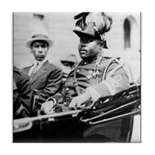Marcus Garvey Tile Coaster
