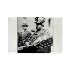 Marcus Garvey Rectangle Magnet