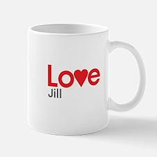 I Love Jill Mug
