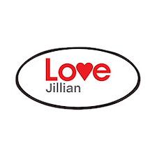 I Love Jillian Patches