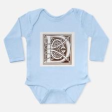 Celtic Letter D Infant Creeper Body Suit