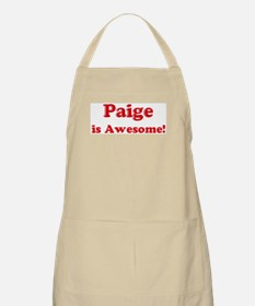 Paige is Awesome BBQ Apron