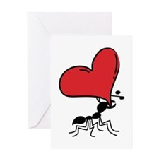 Funny Valentine Ant... Greeting Card