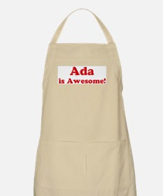 Ada is Awesome BBQ Apron