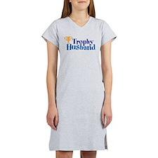 Trophy Husband Funny Valentine Women's Nightshirt