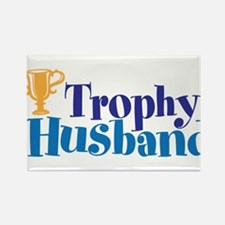 Trophy Husband Funny Valentine Rectangle Magnet